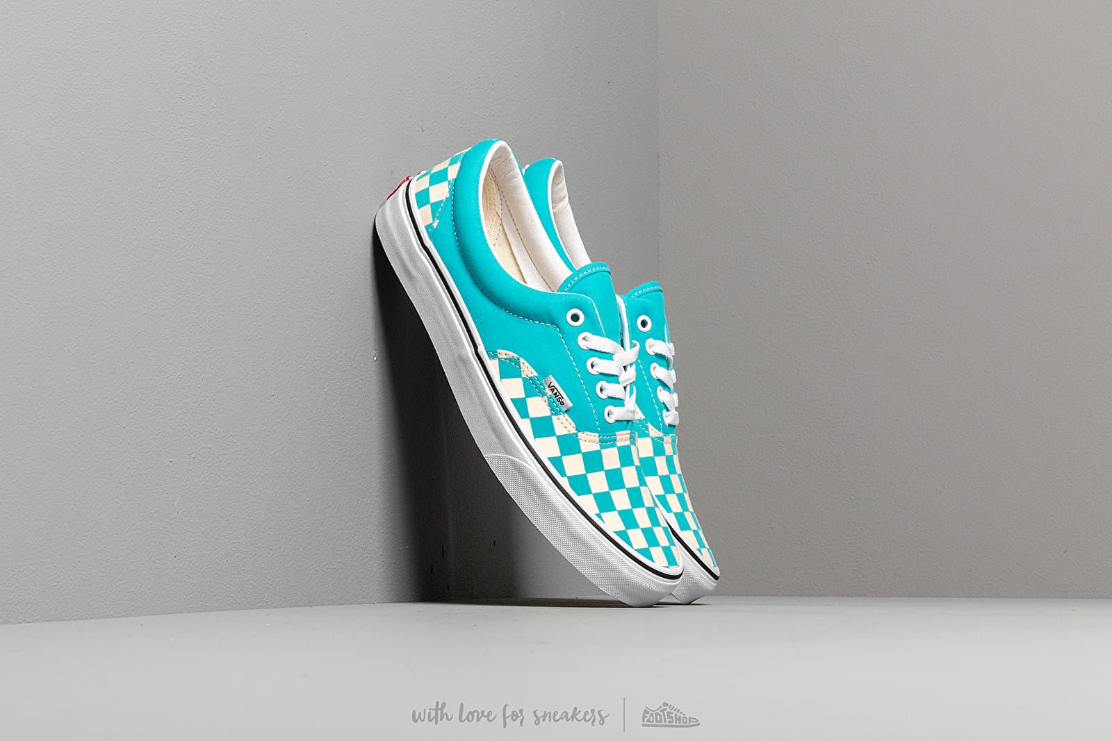 Чоловіче взуття Vans Era (Checkerboardard) Scuba Blue