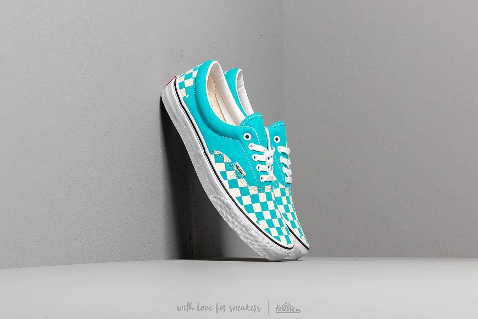 Vans Era (Checkerboardard) Scuba Blue at a great price 62 € bestell bei Footshop