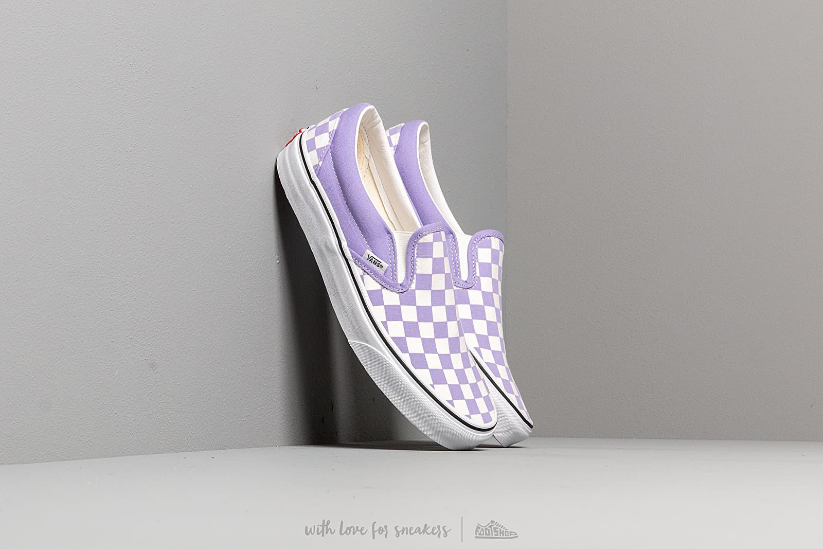 Vans Classic Slip-On (Checkerboardard) Violet at a great price 58 € bestell bei Footshop