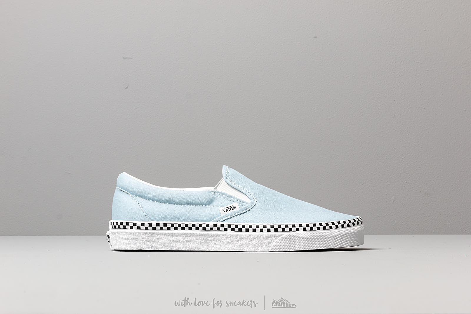 8c67e08c8006 Vans Classic Slip-On (Check Foxing) Cool Blue | Footshop