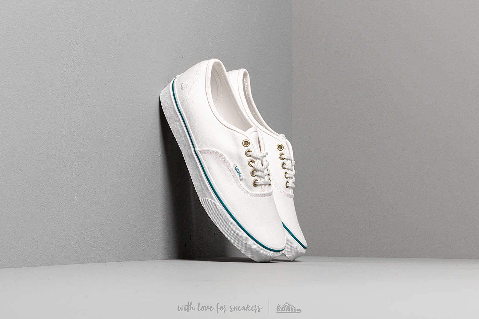 Vans Authentic (P.E.T.) True White/ Ocean at a great price $69 buy at Footshop