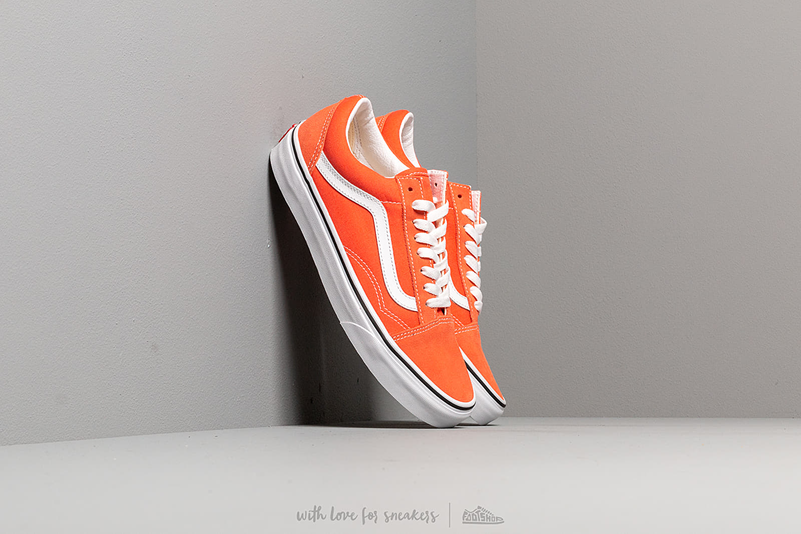 Vans Old Skool Emberglow True White | Footshop