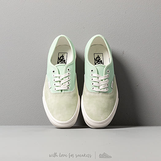 Vans Authentic (Washed Nubuck Canvas) Pale Green | Footshop