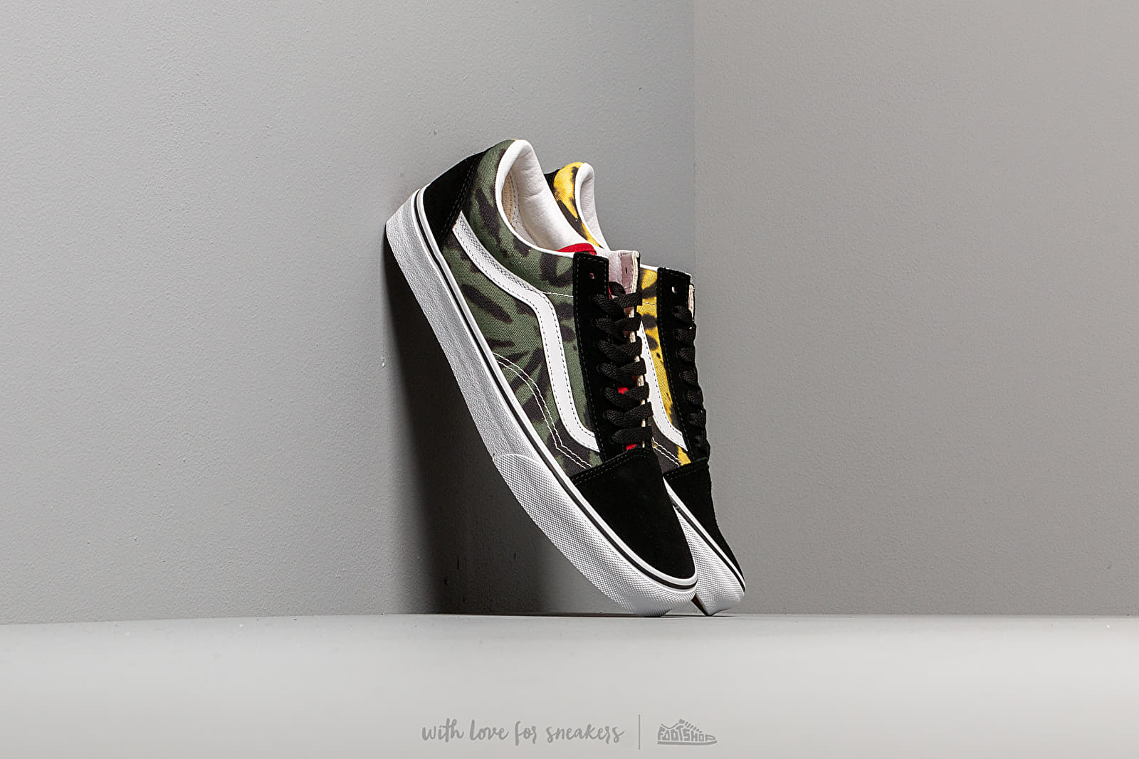 Vans Old Skool (Tie Dye) Multi Black | Footshop
