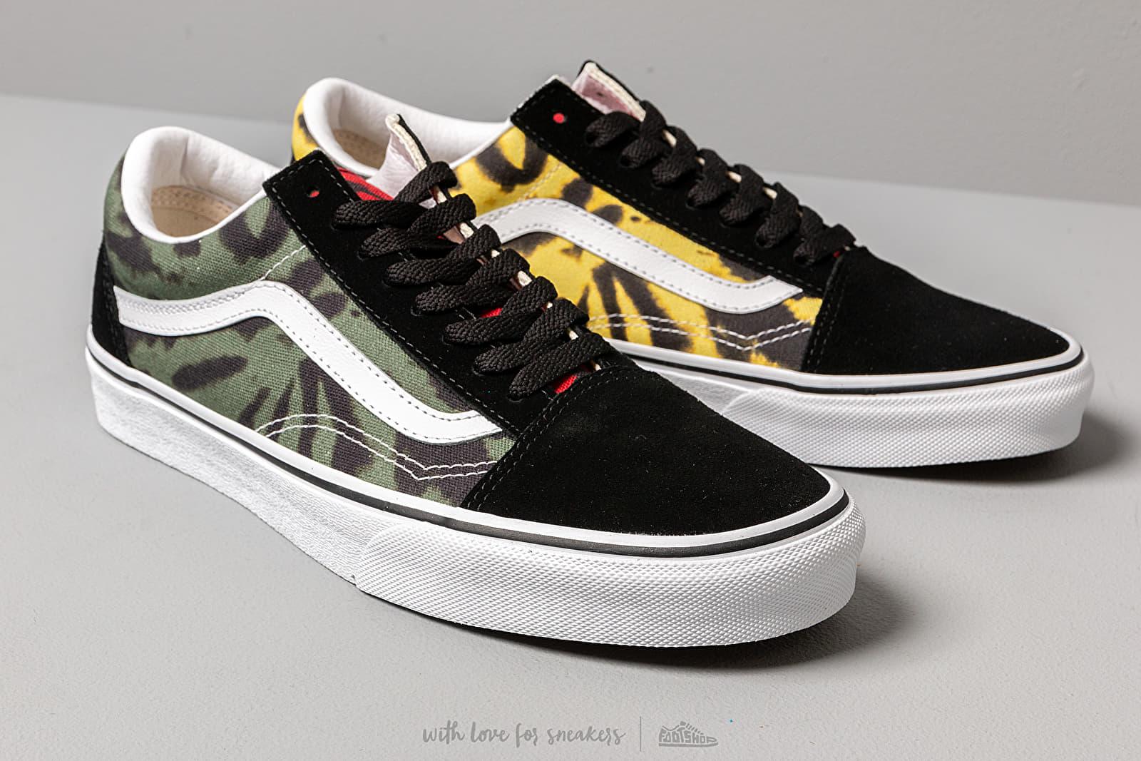 Vans Old Skool (Tie Dye) Multi Black | Footshop