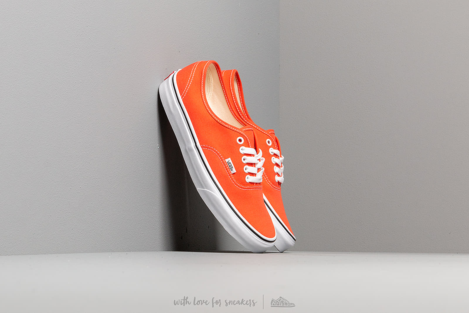 Férfi cipők Vans Authentic Emberglow/ True White