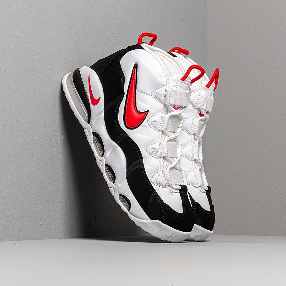 Nike Air Max Uptempo '95 White/ University Red-Black EUR 42.5