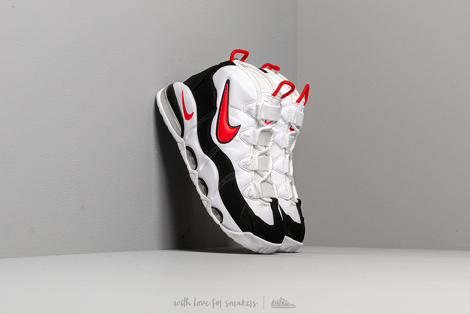 Nike Air Max Uptempo '95 White/ University Red-Black at a great price 158 € buy at Footshop