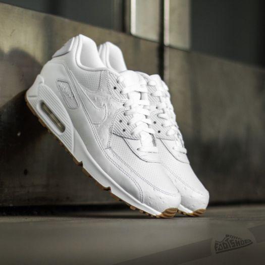 Nike Air Max 90 Leather PA White  Gum Light Brown  de990e139