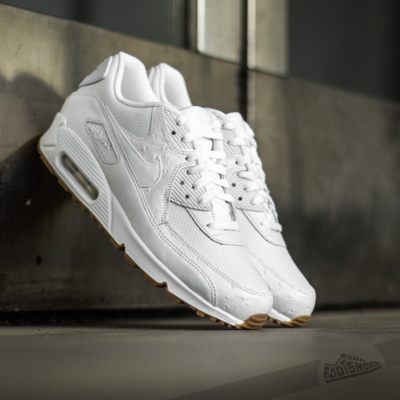 e857bb9cd87fc ... norway nike air max 90 leather pa white gum light brown 5b5a9 ca46c