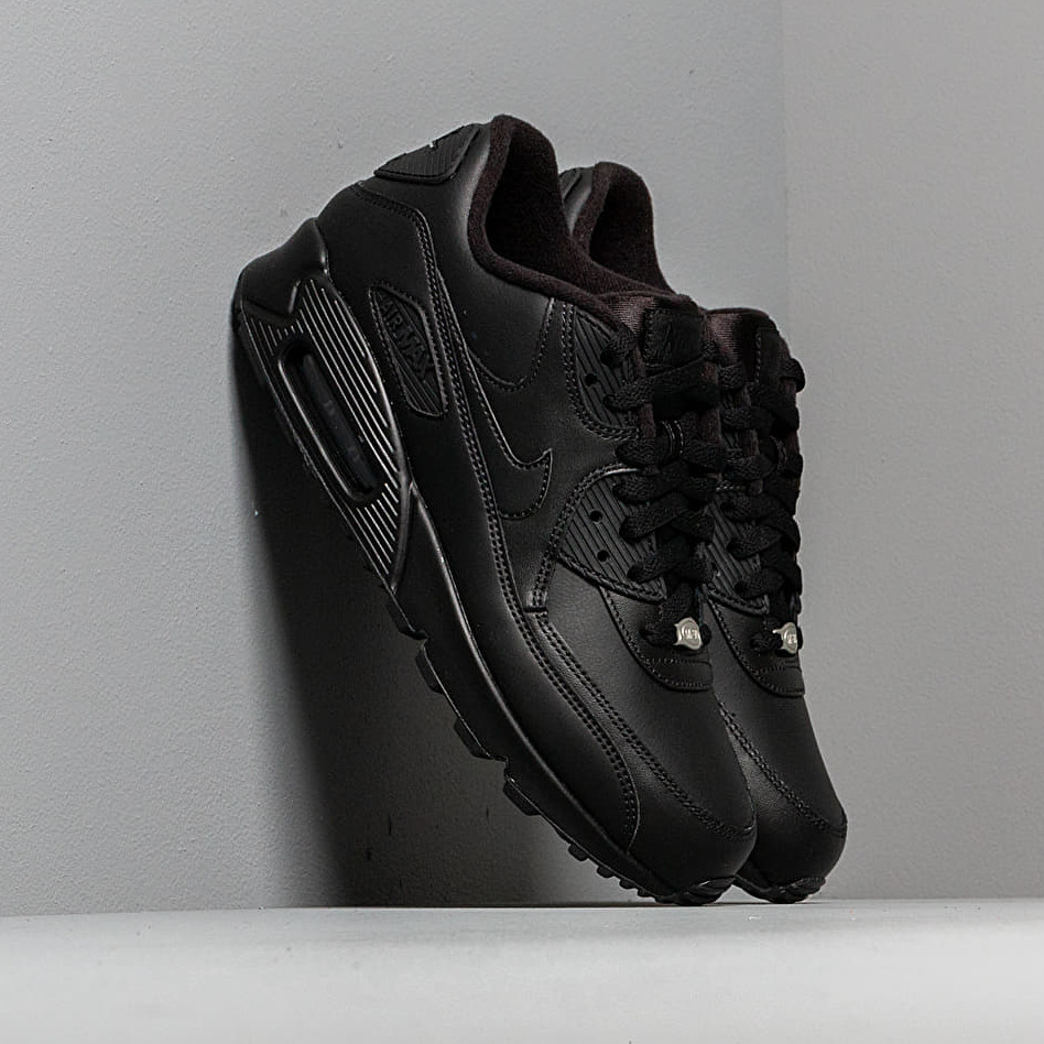 Nike Air Max 90 Leather Black/ Black EUR 44