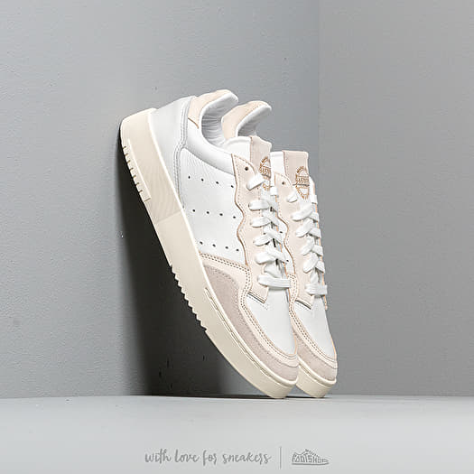 adidas Originals SUPERCOURT (Adidas originals supermarket coat) CRYSTAL WHITECHALK WHITEOFF WHITE 19FW I