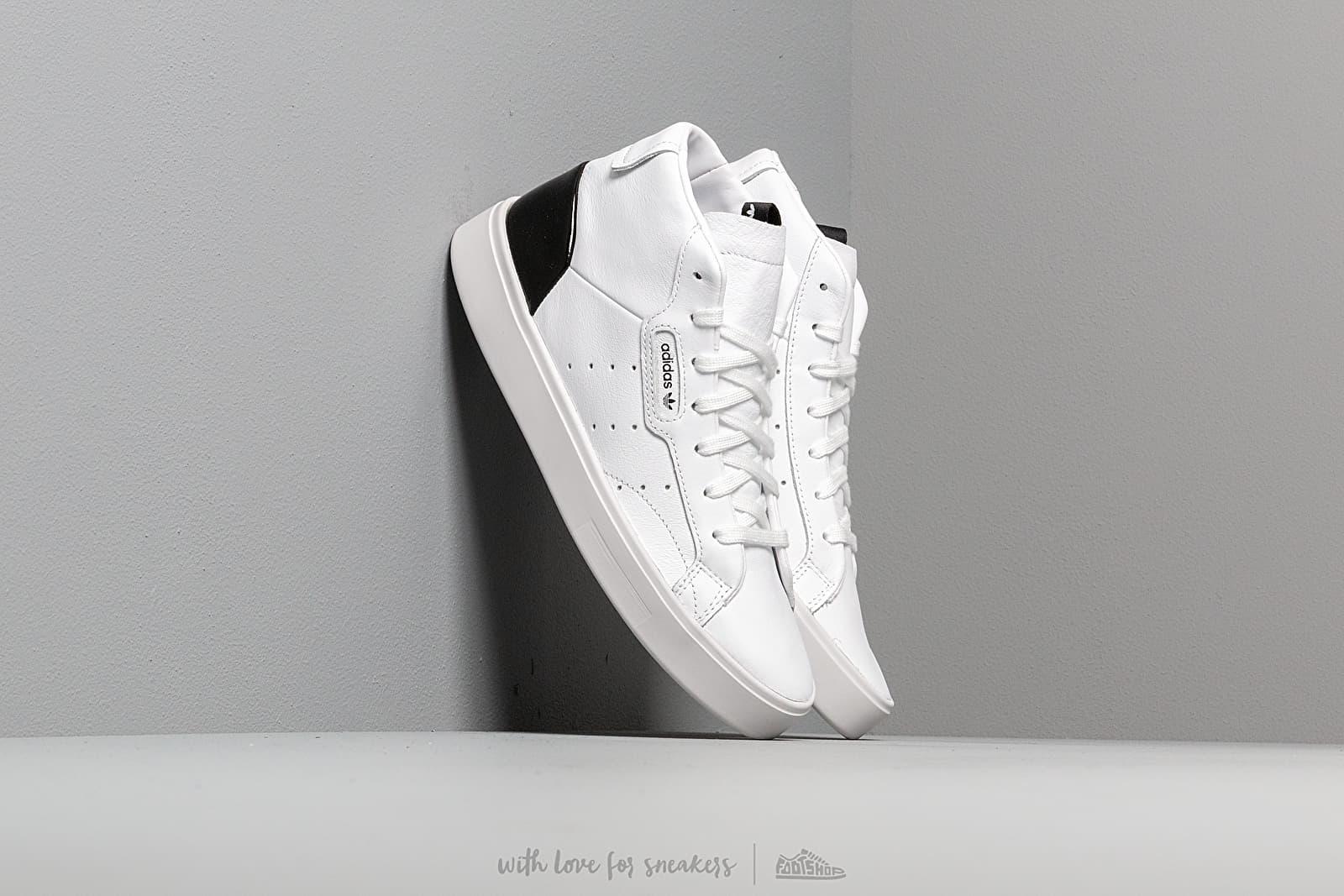 adidas Sleek Mid W Ftw White/ Ftw White/ Core Black za skvělou cenu 2 490 Kč koupíte na Footshop.cz