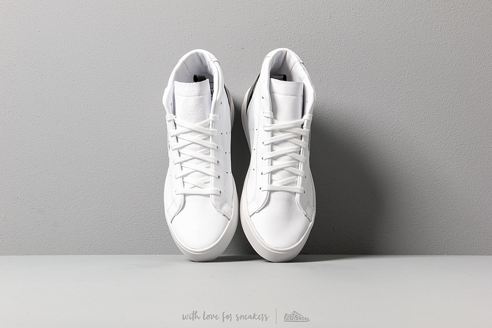 adidas Sleek Mid WFtw White Ftw White Core Black