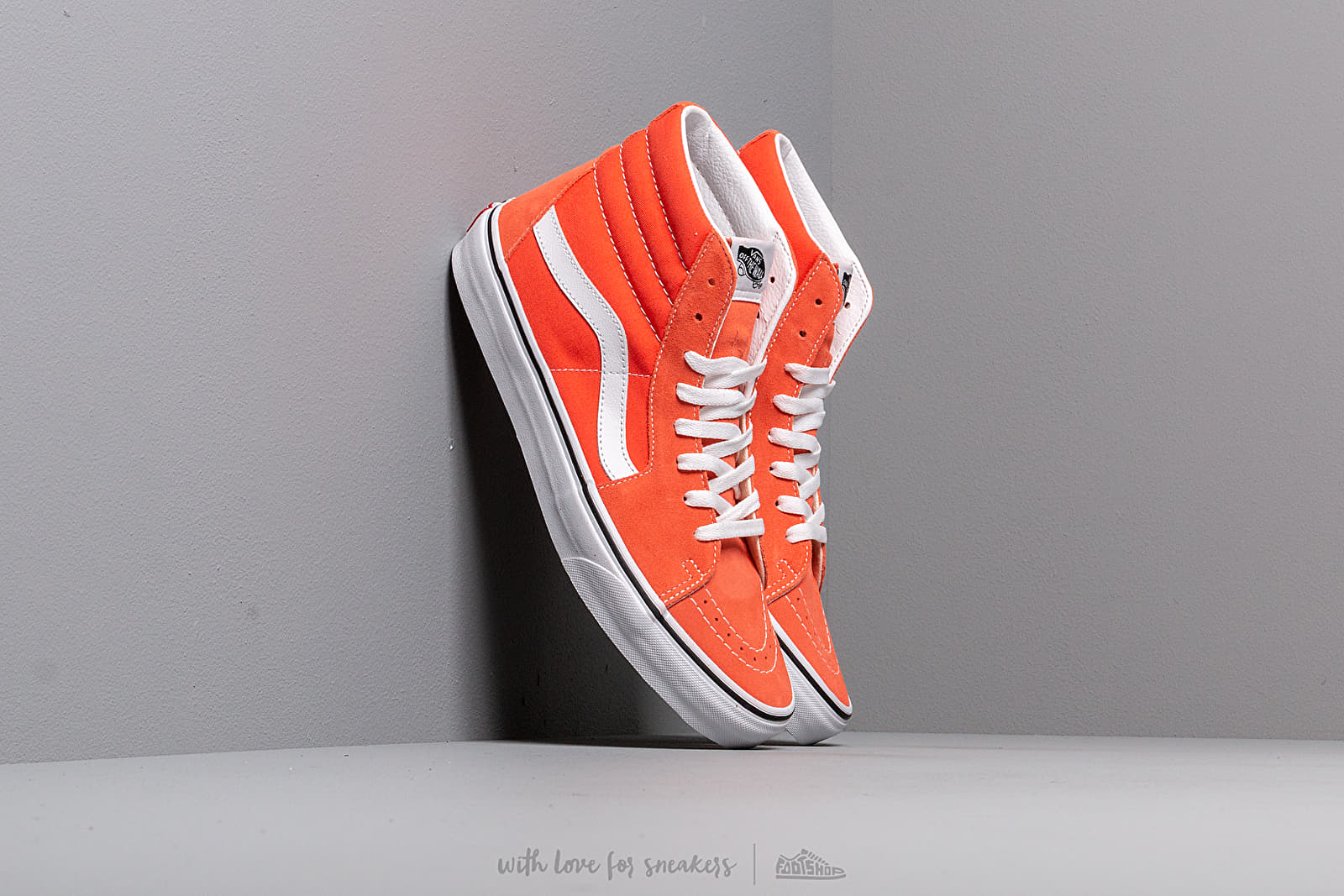 Vans SK8-Hi Emberglow/ True White at a great price 73 € bestell bei Footshop