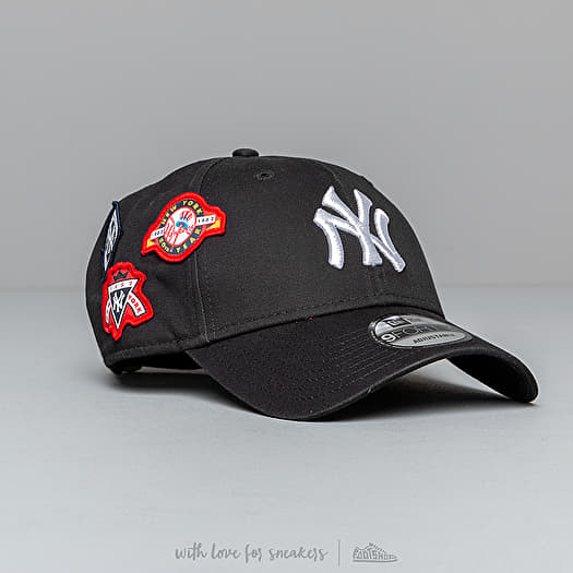 fc5d06a22e23b0 New Era 9Forty MLB Cooperstown Patched New York Yankees Cap