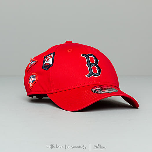 f41ed59669643b New Era 9Forty MLB Cooperstown Patched Boston Red Sox Cap