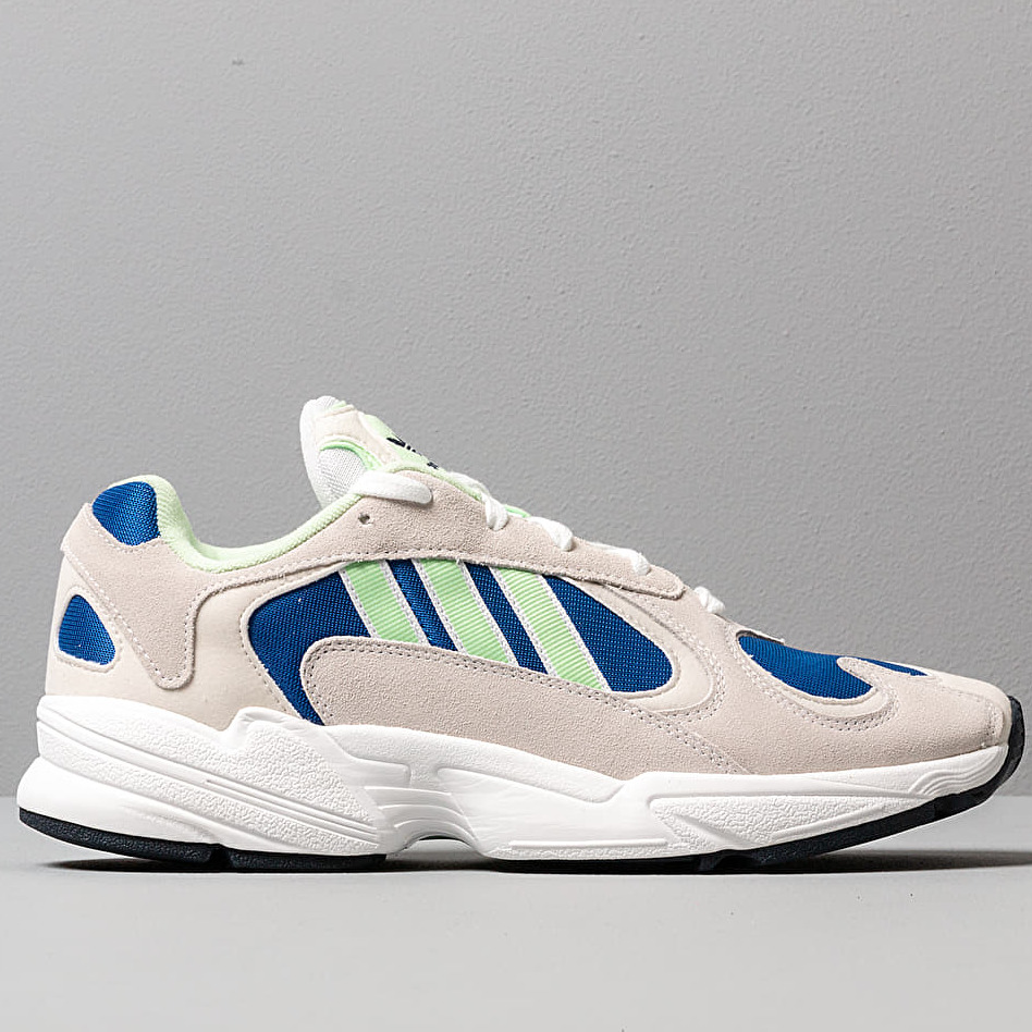 adidas Yung-1 Ftw White/ Glow Green/ Core Royal