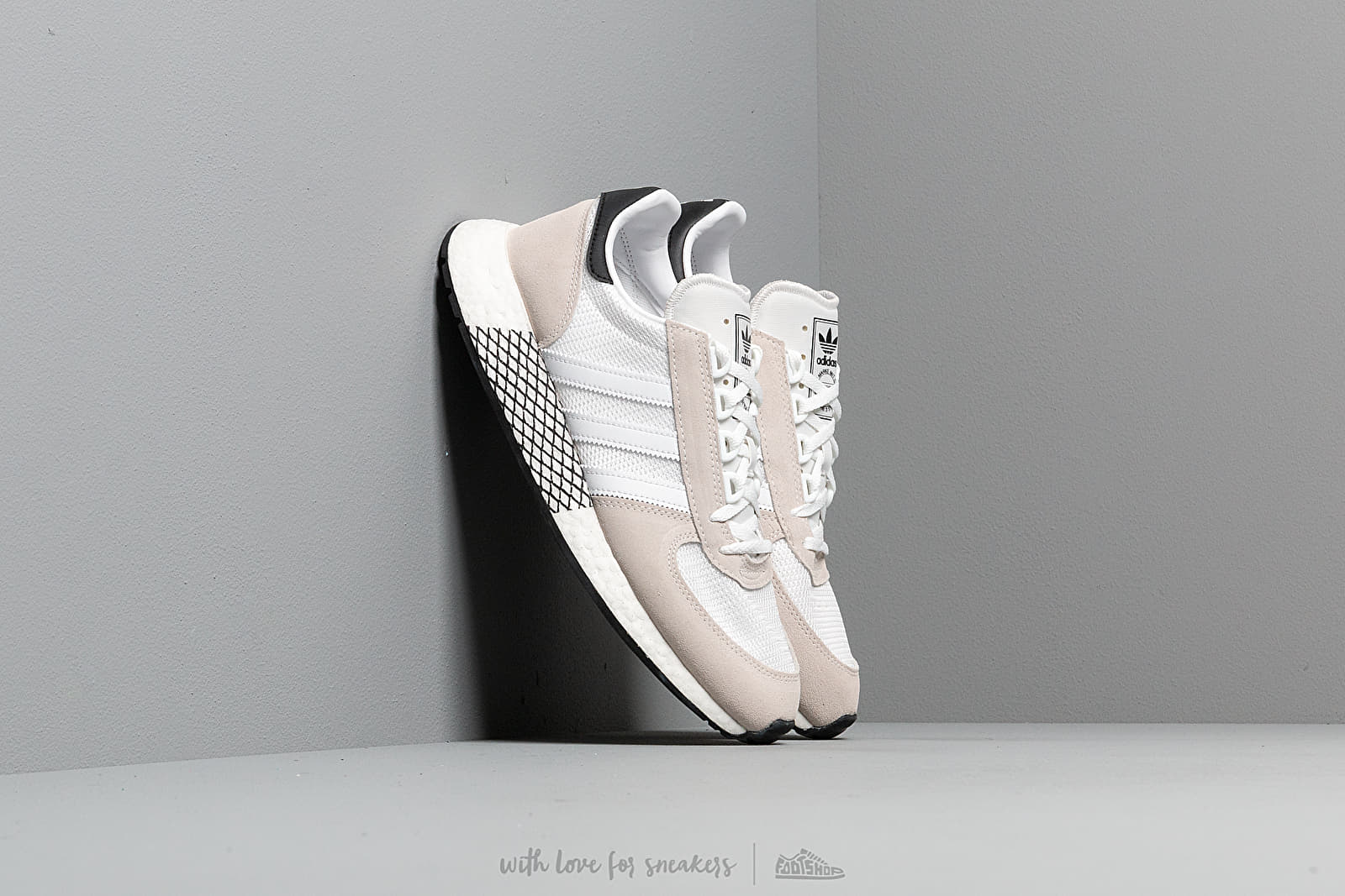 Ανδρικά παπούτσια adidas Marathon Tech Ftw White/ Ftw White/ Core Black