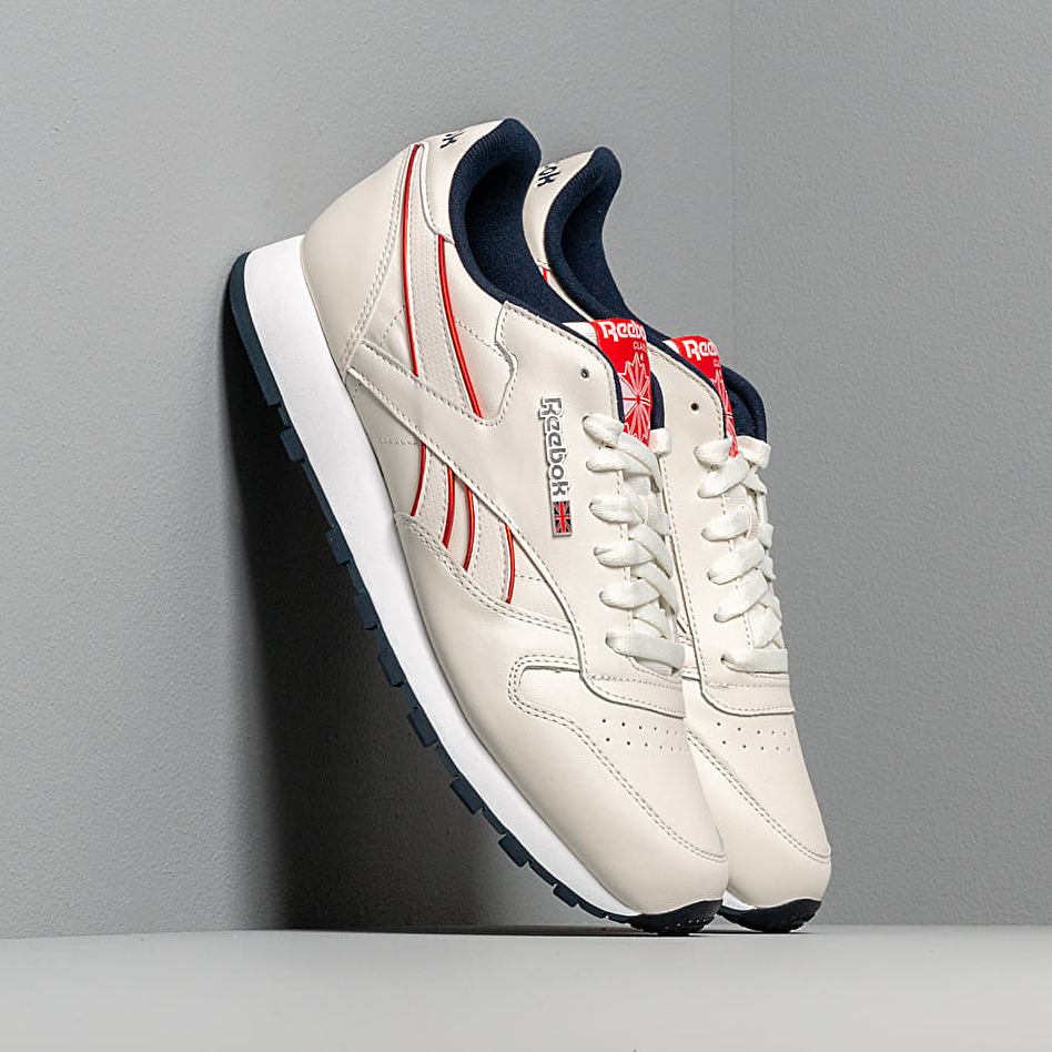 Reebok Classic Leather Mu Chalk/ Navy/ Red/ White EUR 45