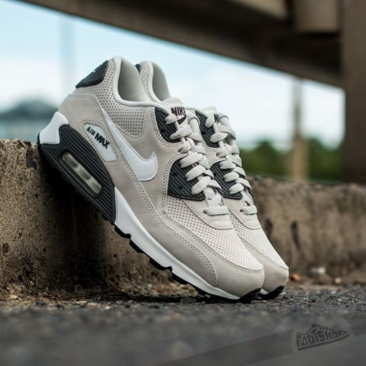 sale retailer outlet boutique good Nike Air Max 90 LTR Premium Light Bone/ White/ Midnight Grey