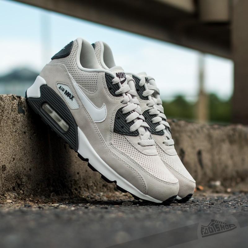 Men S Shoes Nike Air Max 90 Ltr Premium Light Bone White