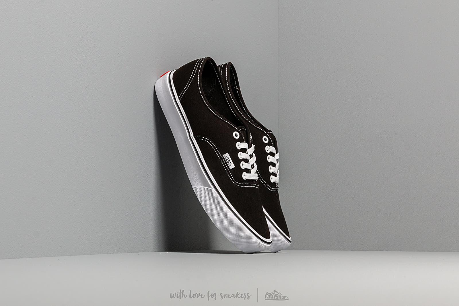 Vans Authentic Lite (Canvas) Black/ White za skvělou cenu 1 690 Kč koupíte na Footshop.cz