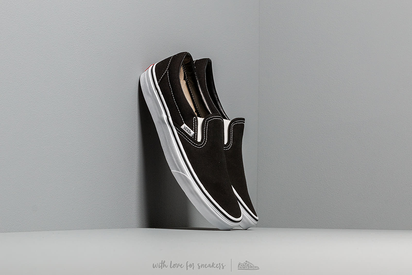 Men's shoes Vans Classic Slip-On Black