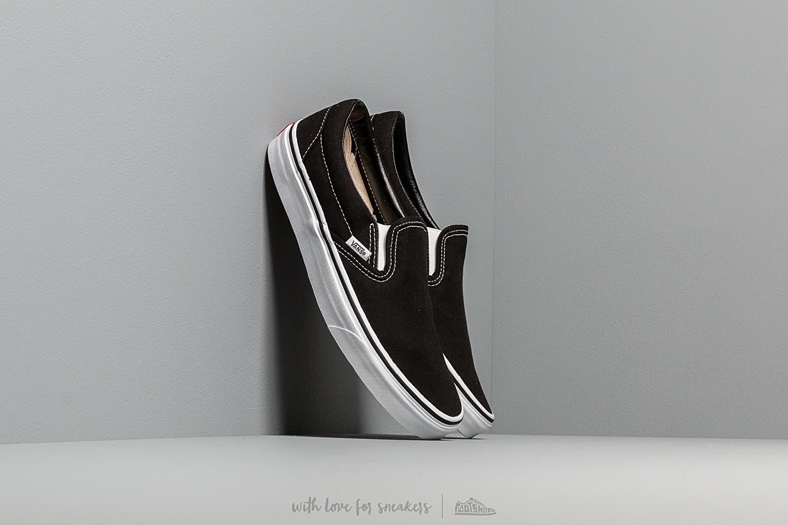 Vans Classic Slip-On Black za skvelú cenu 55 € kúpite na Footshop.sk