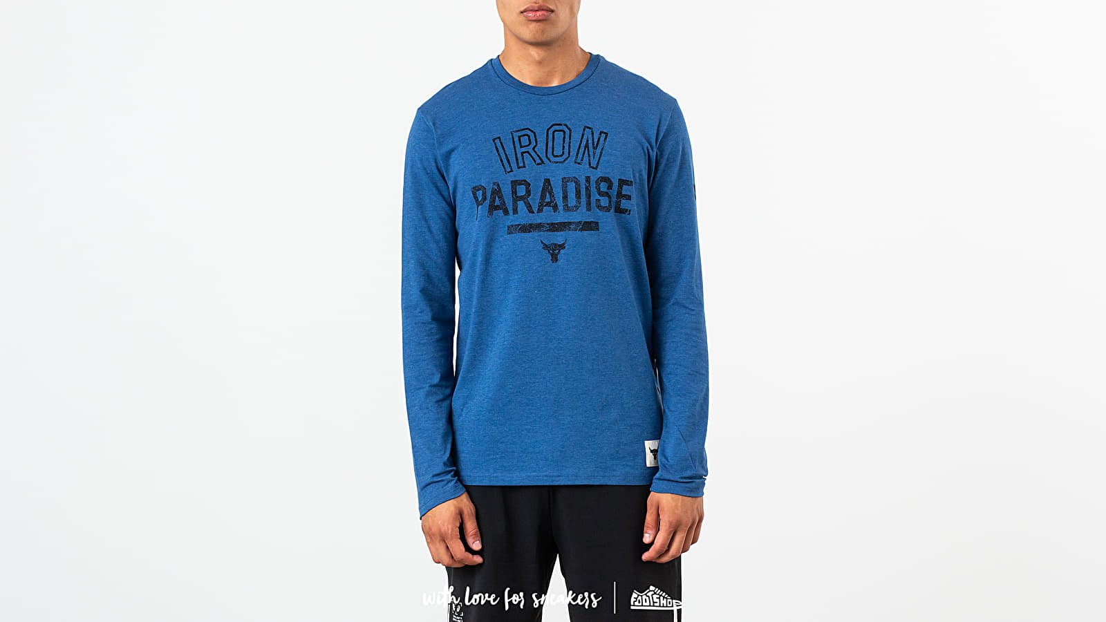 Under Armour Project Rock Iron Paradise Long Sleeve Tee