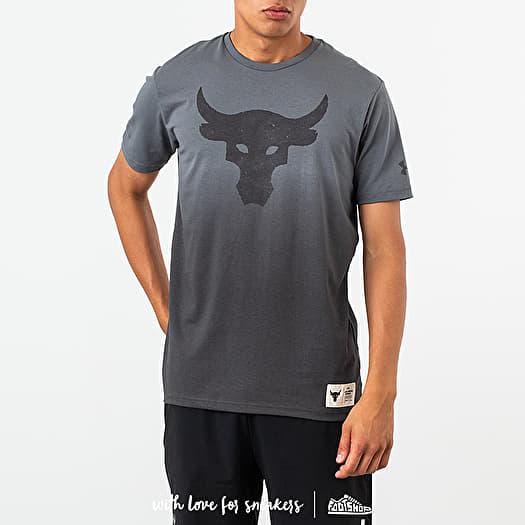 buffet modo Vegetación  Camisetas Under Armour Project Rock Bull Graphic Tee Black