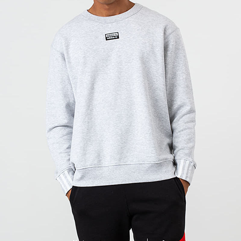 adidas R.Y.V. Crewneck Light Grey Heather, Gray