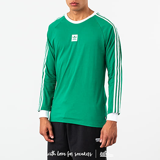 T Shirts adidas Cali BB Longsleeve Tee Bright Green White