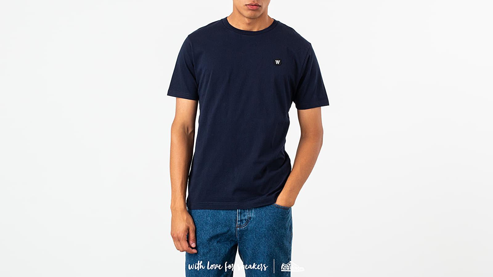T-shirts WOOD WOOD Ace Tee Navy