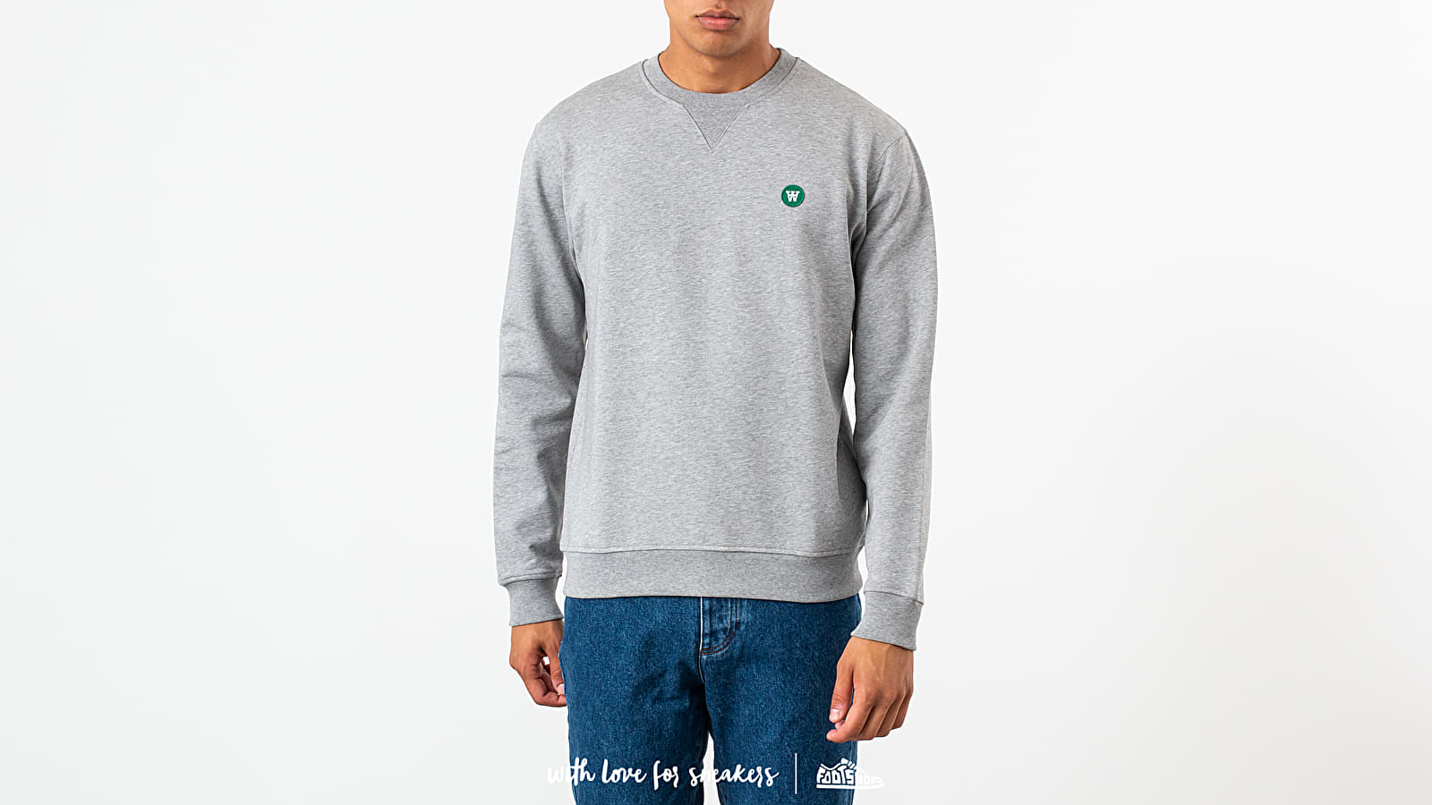 WOOD WOOD Tye Crewneck