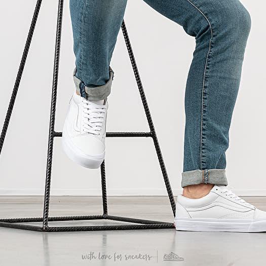 shoes Vans OG Old Skool LX VL VLT White