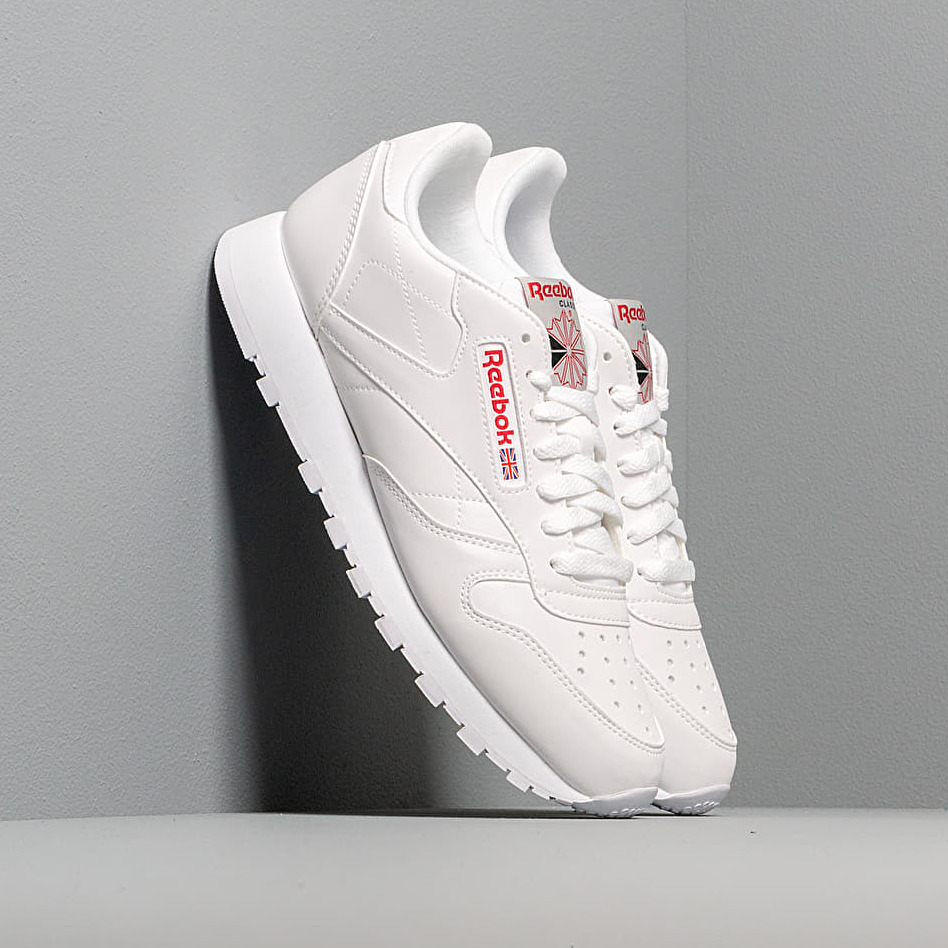 Reebok Classic Leather Mu White/ Grey/ Red/ Black EUR 45