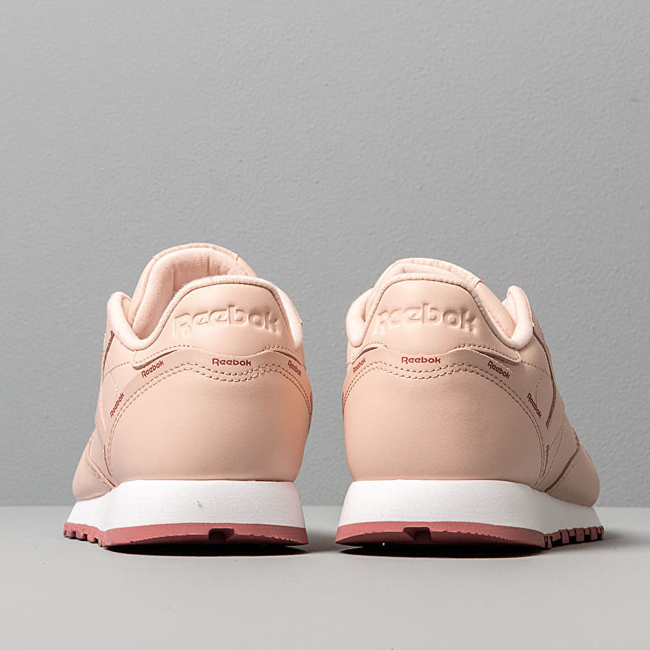 Reebok Cl Leather Buff/ Rose Dust/ White, Pink