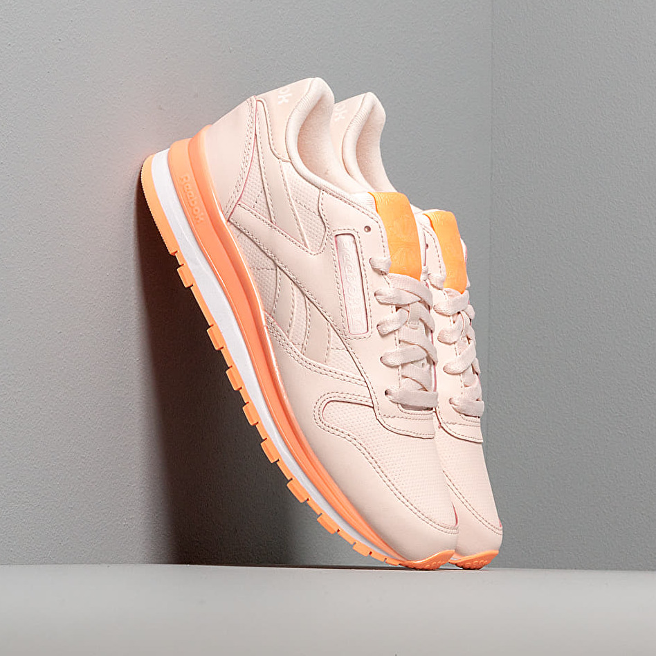 Reebok Classic Leather Pale Pink/ Sunglow/ White EUR 38.5