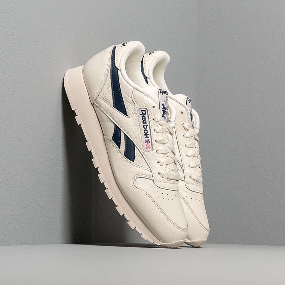 Reebok Classic Leather Mu Chalk/ Paperwht/ Coll Navy EUR 42.5