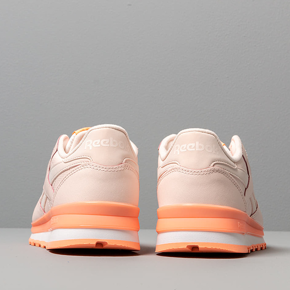 Reebok Cl Leather Pale Pink/ Sunglow/ White