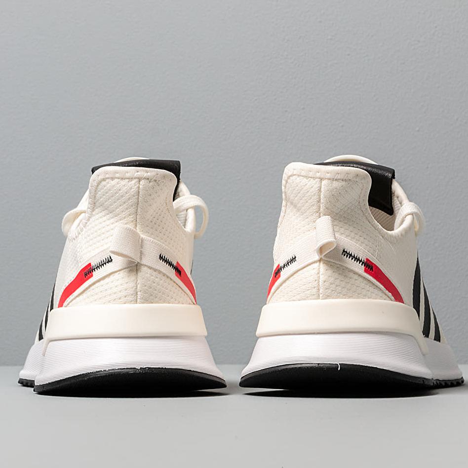 adidas U_Path Run Off White/ Core Black/ Shock Red
