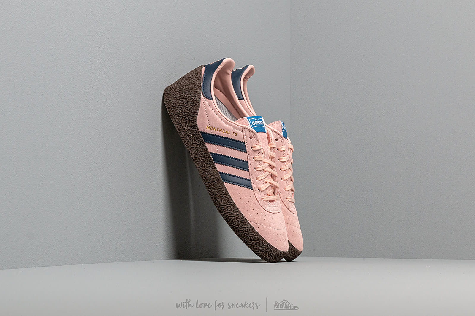 adidas Montreal 76 Vapor Pink Collegiate Navy Ftw White