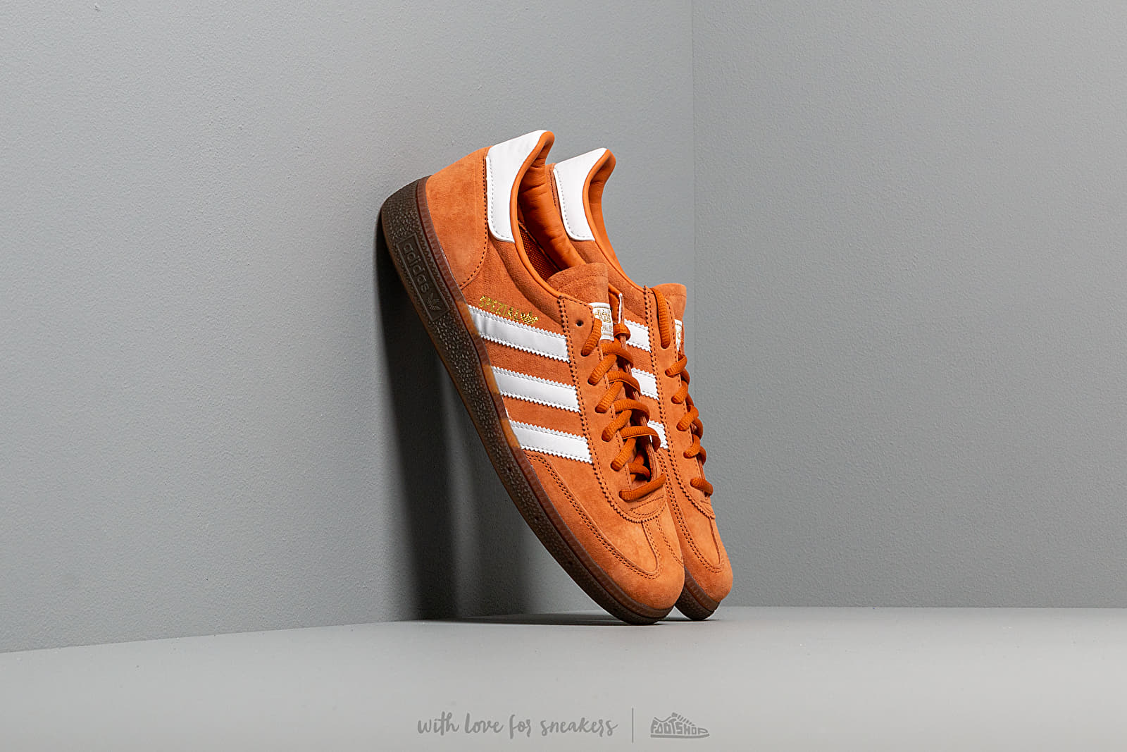 adidas Handball Spezial Tech Copper Ftw White Gold Metalic | Footshop