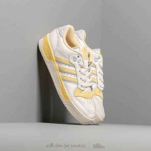 adidas Rivalry Low Cloud White Off White Easy Yellow | Footshop