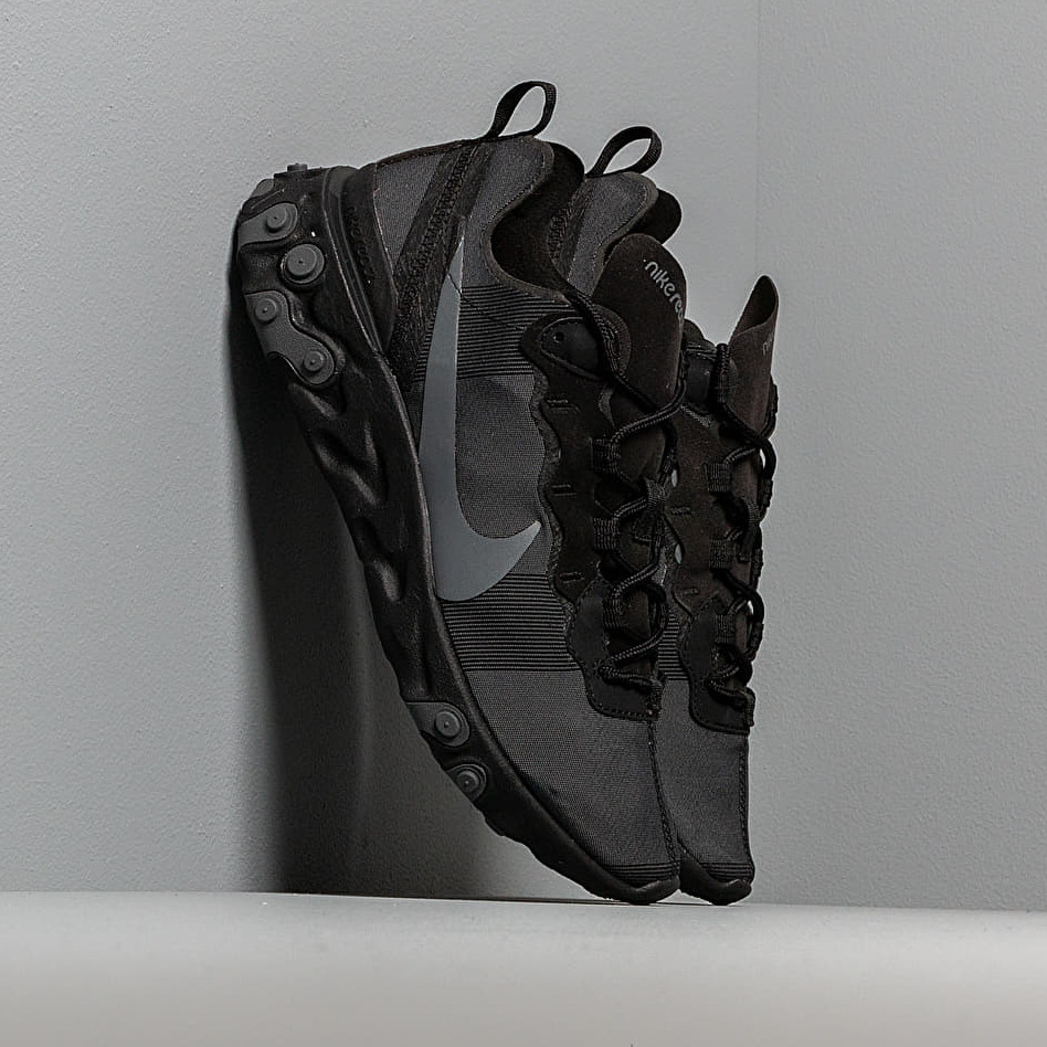 Nike React Element 55 Black/ Dark Grey EUR 43