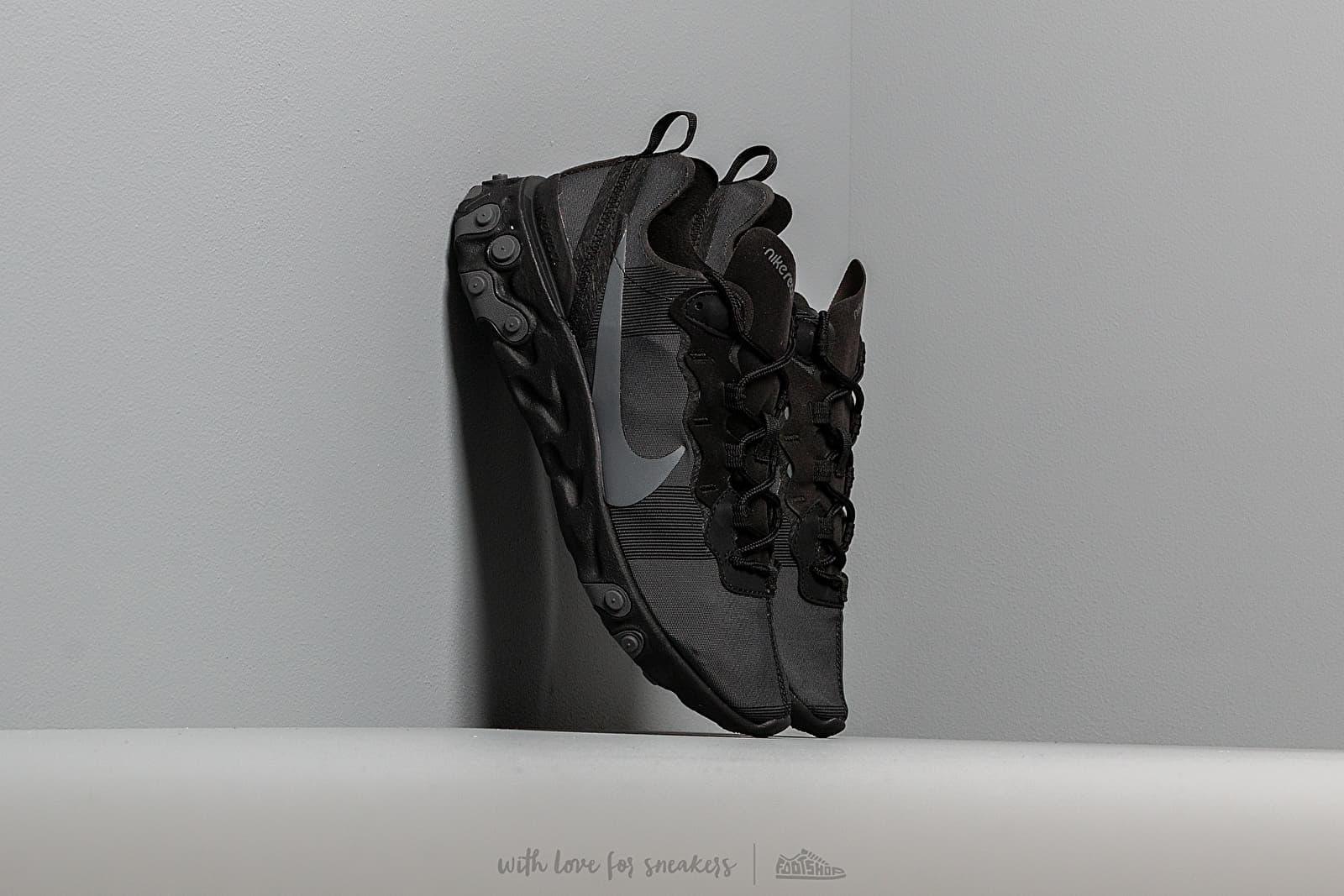Men's shoes Nike React Element 55 Black/ Dark Grey