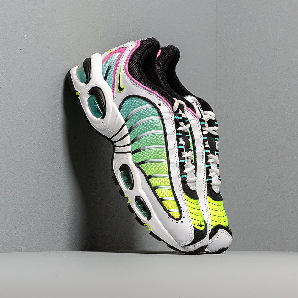 Nike Air Max Tailwind IV White/ Black-China Rose-Aurora Green EUR 43