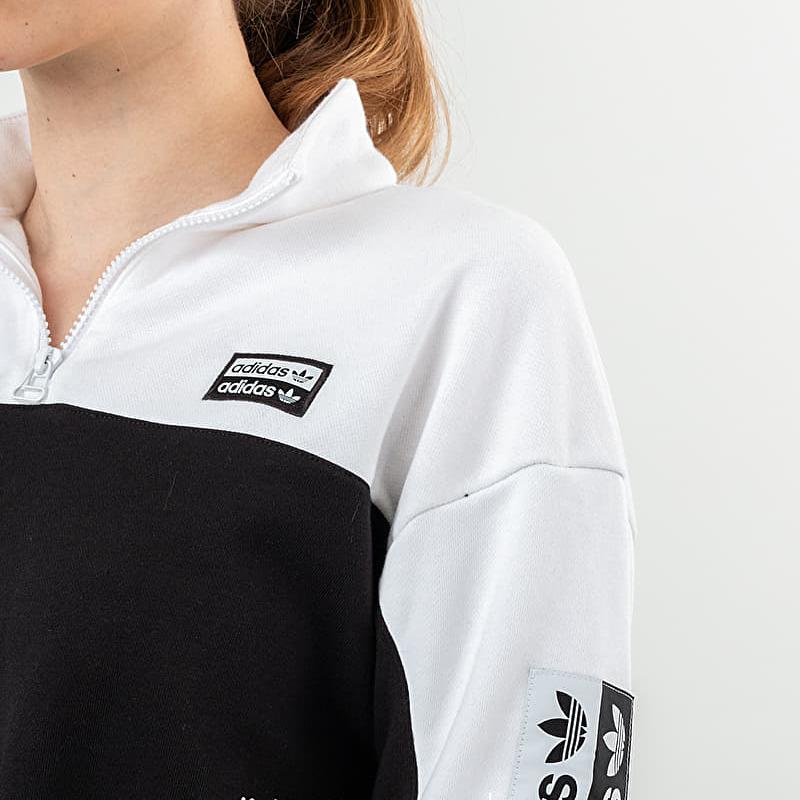 adidas Cropped Sweashirt White/ Black