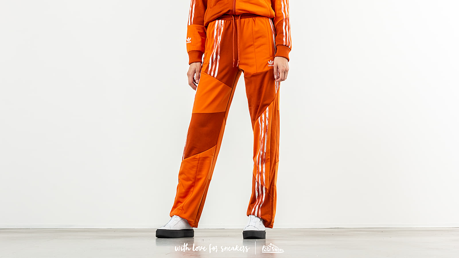 Pantalons adidas x Daniëlle Cathari Football Track Pants Fox Red